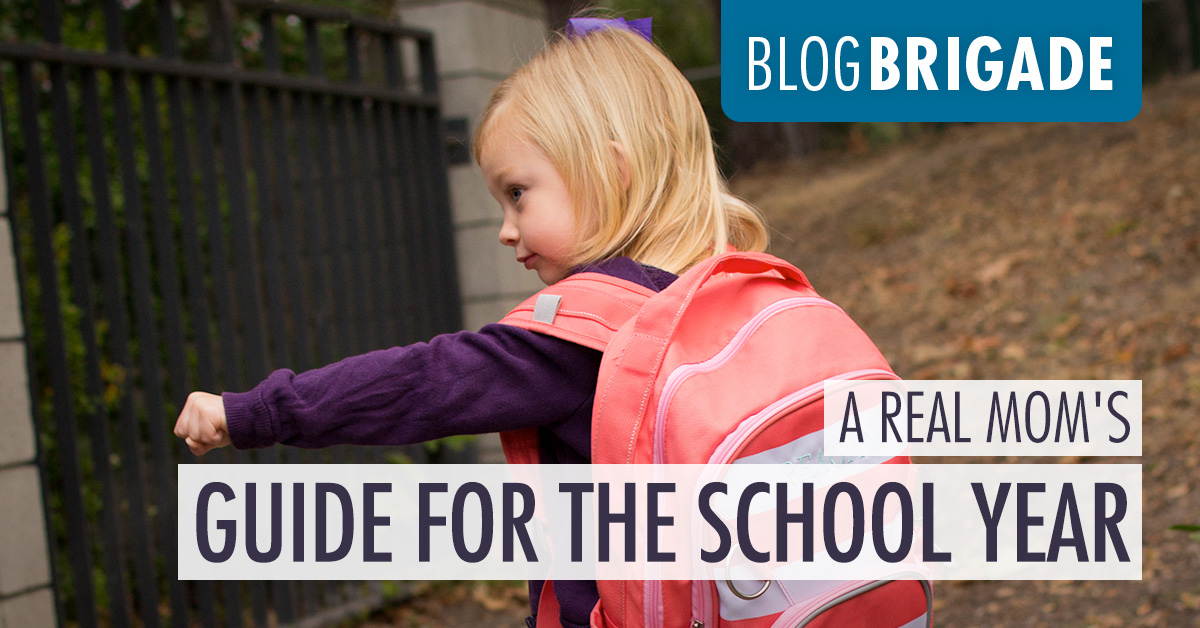 A Real Mom's Guide for the School Year