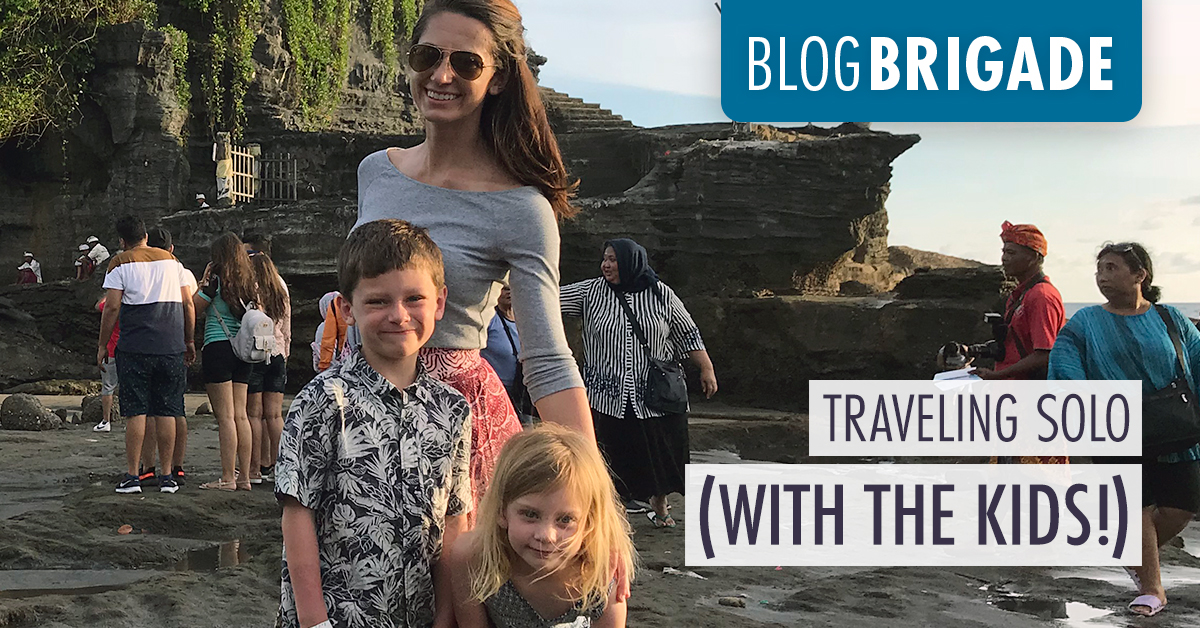 Traveling Solo (with the kids!)