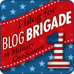 I blog for Blog Brigade at MilitaryOnesource.mil