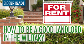 How to Be a Good Landlord in the Military
