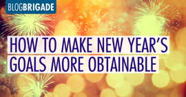 How to Make New Year's Goals More Obtainable